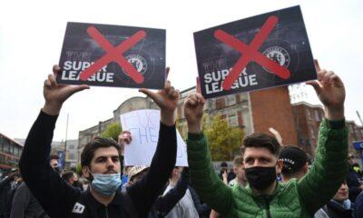UEFA keskeuttää Superliiga rangaistukset